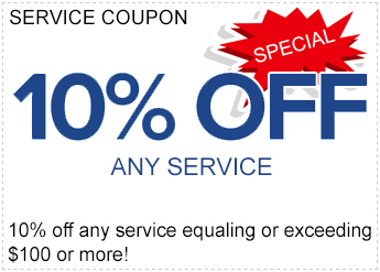 10% off service